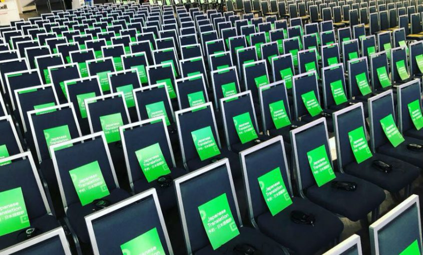 Conference Simultaneous Interpreting Google Cloud Next - Bilingva
