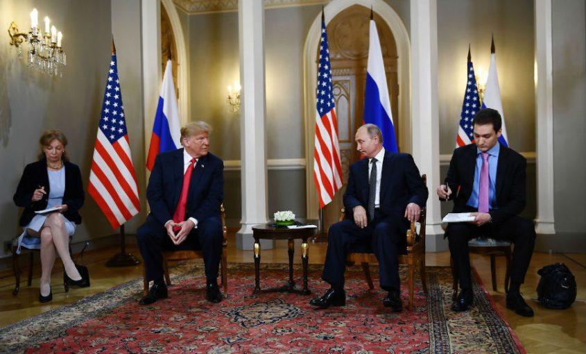 Putin Trump Helsinki Meeting
