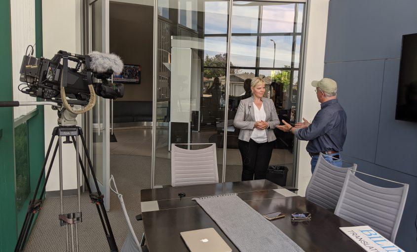 CBS News Story on Masks Features Bilingva's CEO Catherine Neyman