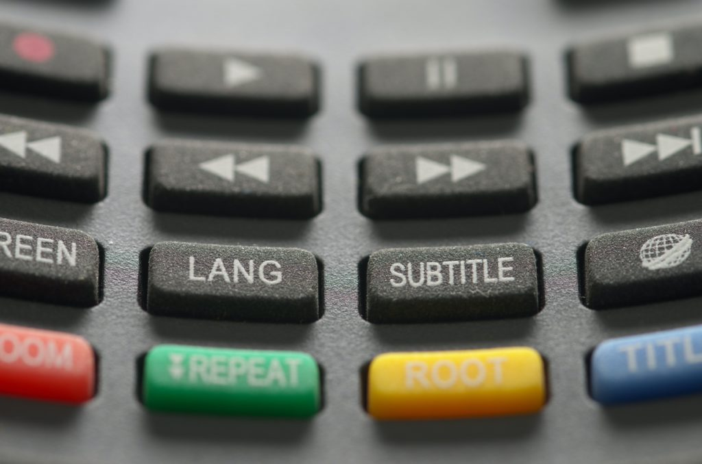 Subtitling and captioning